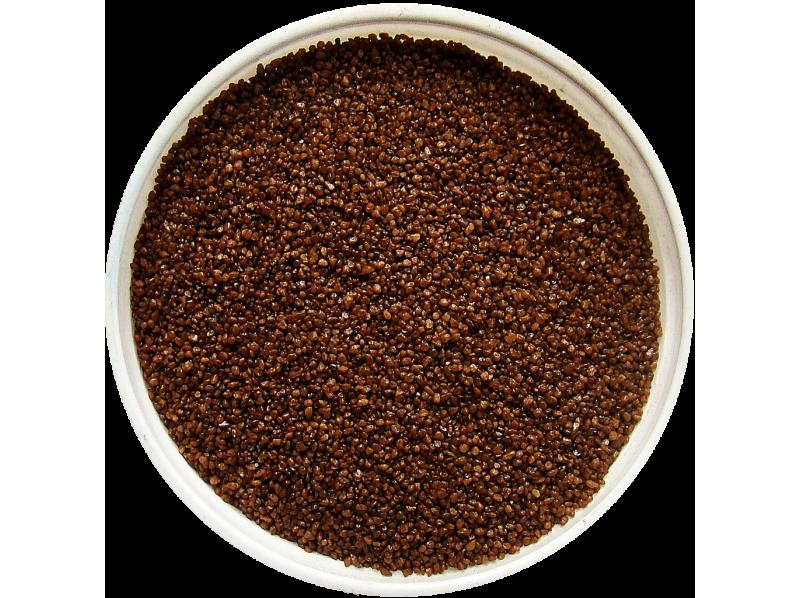 Мраморный песок цветной шоколадный